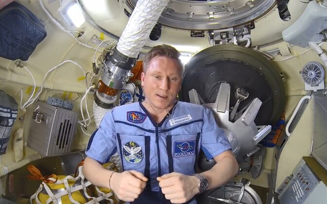 Kosmonaut Sergei Prokopjev.