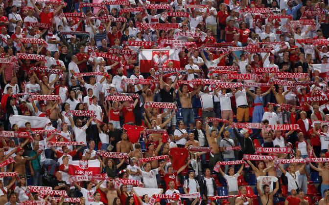 Poola jalgpallifännid