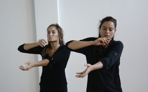Nicole Michalla ja Laura Witzleben