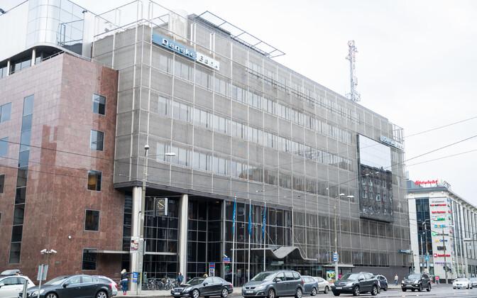Danske Banki Eesti filiaal Narva maanteel.