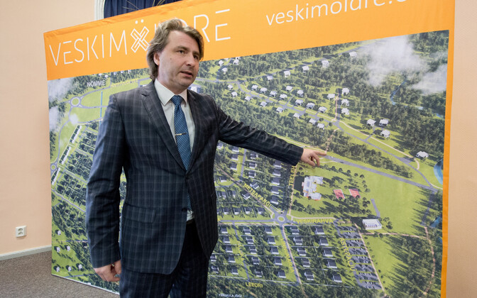 Saue vallavanem Andres Laisk. Kaue valda rajatav klaasitoodete tehas ei tule Veskimöldre elurajooni lähedusse.