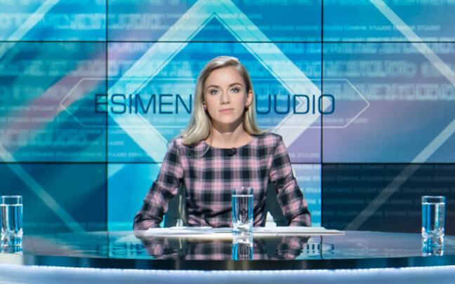 Esimene stuudio, saatejuht Anna Pihl
