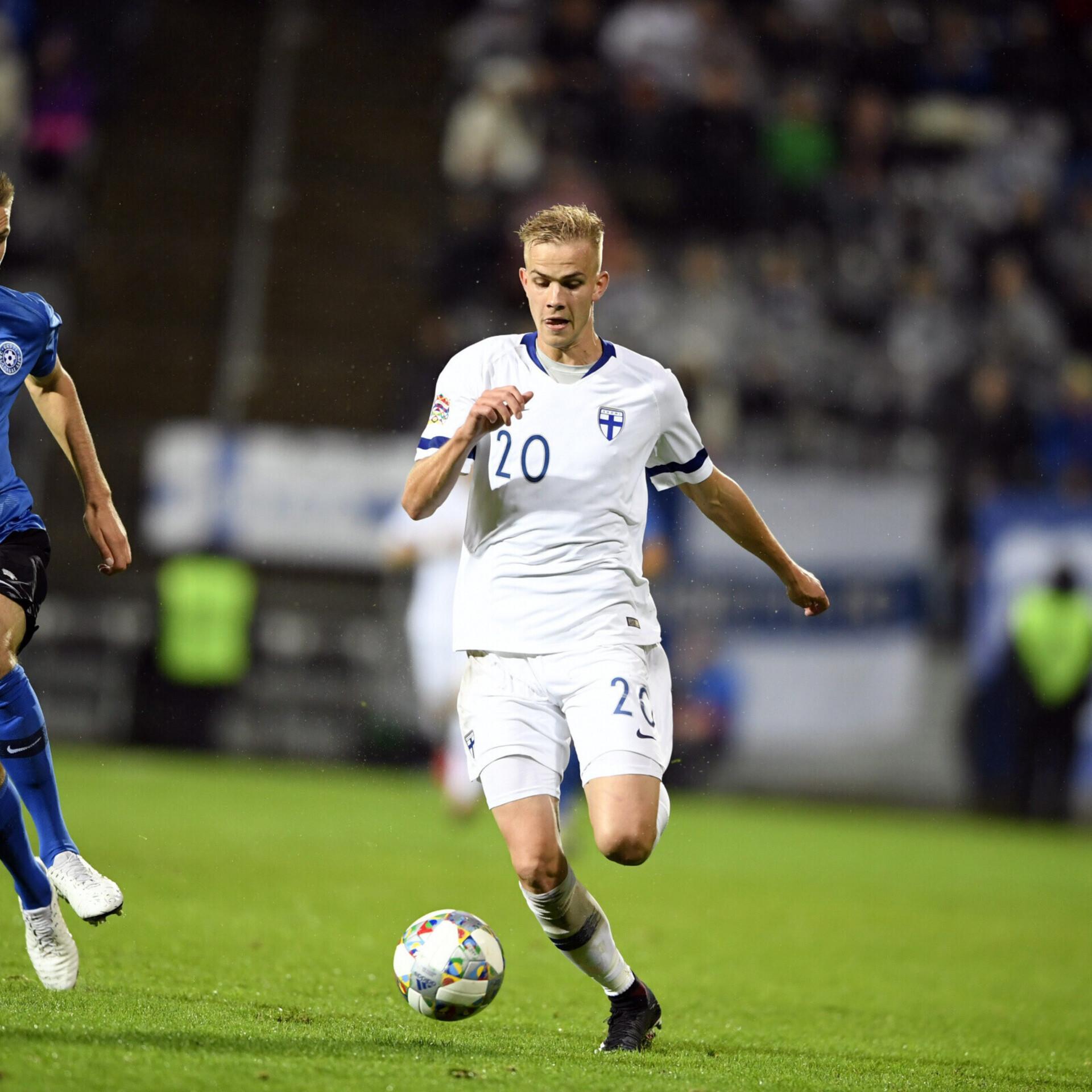 1cdc8be8a76 Eesti pidi Rahvuste liigas tunnistama Soome paremust   Jalgpalli Eesti  koondis   ERR