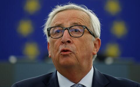 Президент Европейской комиссии Жан-Клод Юнкер выступил с ежегодным посланием о состоянии дел в ЕС.