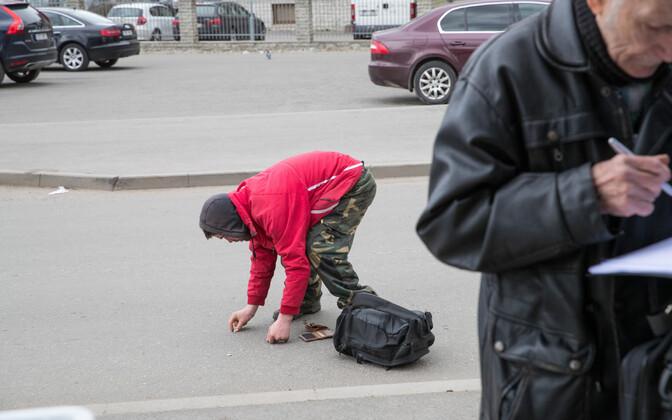 В Эстонии по-прежнему хватает людей, которые живут в бедности.