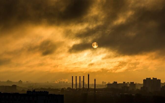 Промышленный пейзаж. Иллюстративное фото.