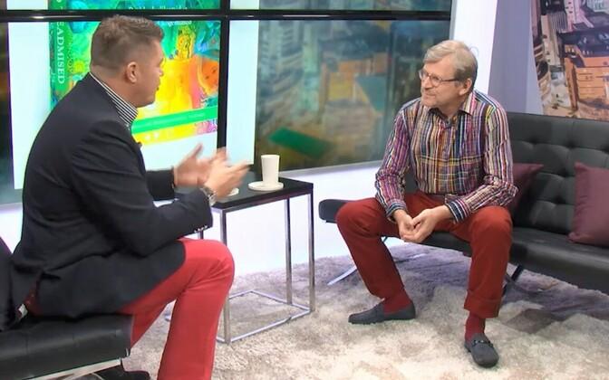 Hannes Võrno ja Alar Tamming.