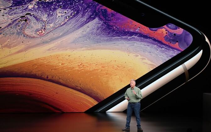 Apple uute telefonide esitlus.