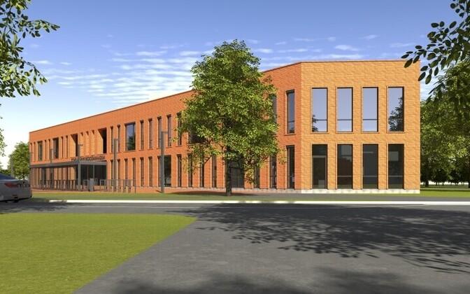 Проектировщик здания – фирма BOA OÜ.