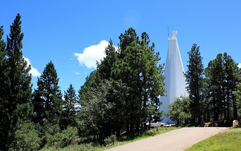Sunspot Solar Observatory, New Mexico.