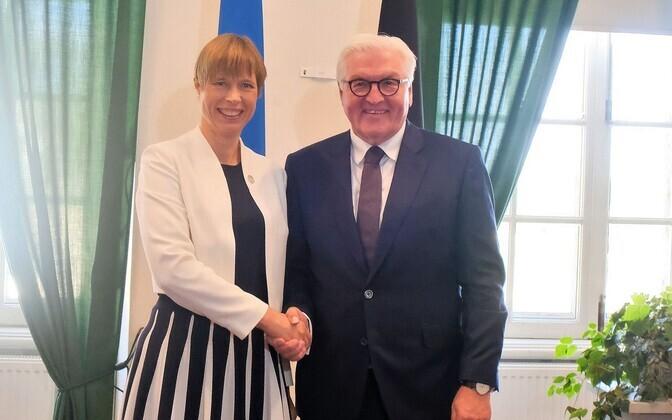 President Kersti Kaljulaid kohtus Saksamaa presidendi Frank-Walter Steinmeieriga.