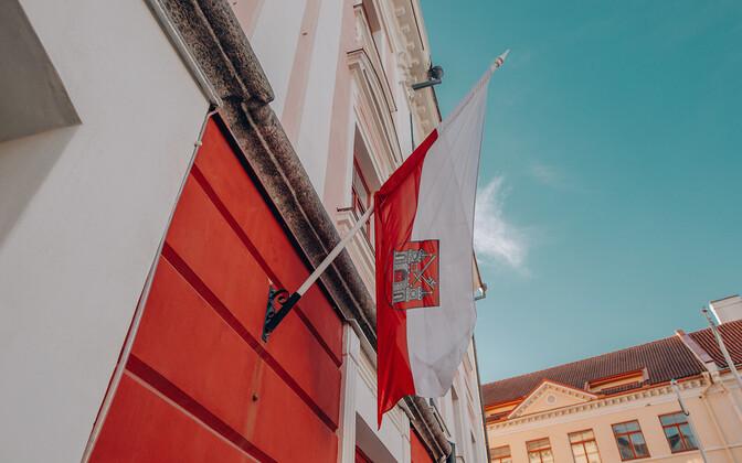 Tartu linnavalitsuse hoone.