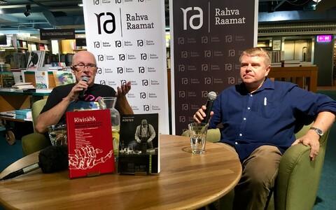 Andrus Kivirähk esitleb kahte uut raamatut.