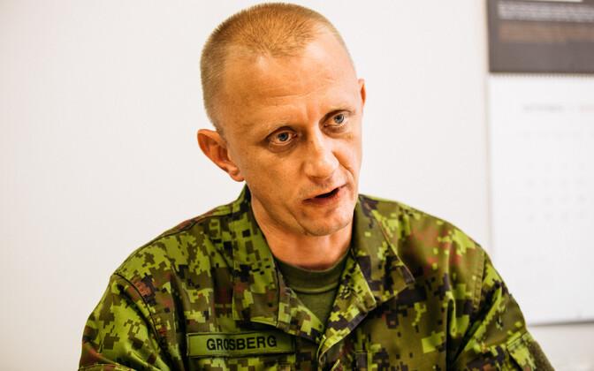 Kaitseväe luurekeskuse ülem kolonelleitnant Margo Grosberg