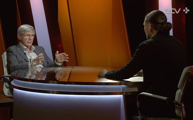Виталий Белобровцев в гостях у телеведущего ETV+ Дмитрия Пастухова.