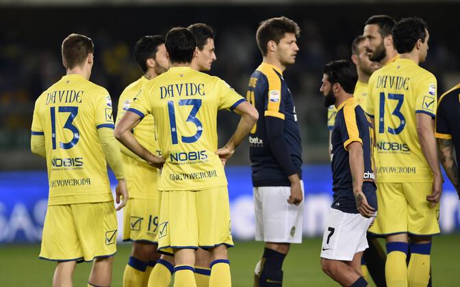 Chievo Verona mängijad