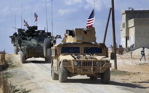 Американские пехотинцы в Сирии.
