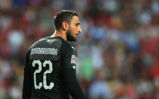 Itaalia jalgpallikoondise väravavaht Gianluigi Donnarumma