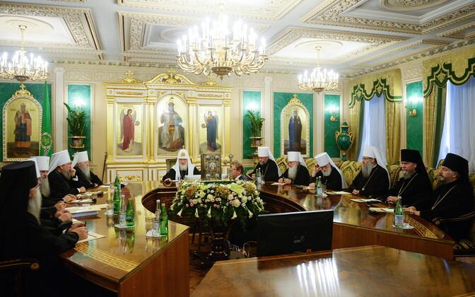 14 сентября состоялось внеочередное заседание Священного Синода Русской православной церкви.