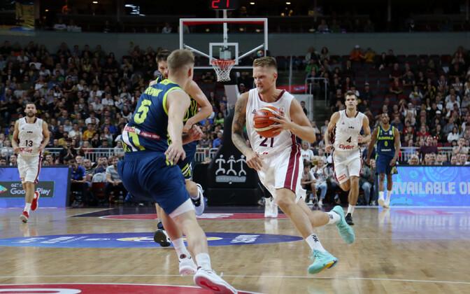 MM-valikmäng: Läti - Sloveenia