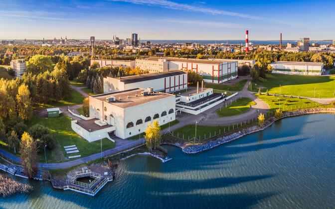 Tallinna Vesi water treatment plant at Lake Ülemiste.
