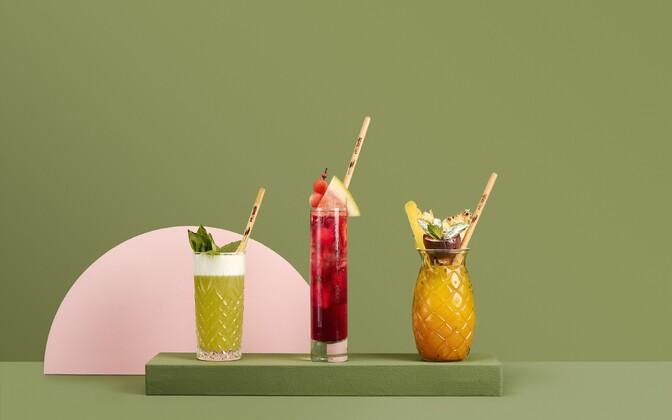 Taaskasutatav, masinpestav, komposteeritav ja täiesti looduslik joogikõrs pillirookõrs (Grete Riim ja Mihkel Tamm)