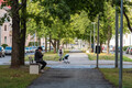 Скамейки в Пыхья-Таллинне.