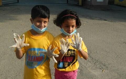 Maailmakoristuspäeva talgutest võtavad osa ligi 150 riiki üle kogu maailma.