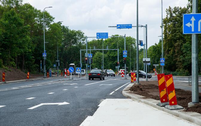 Перекресток был открыт для движения в конце июля.