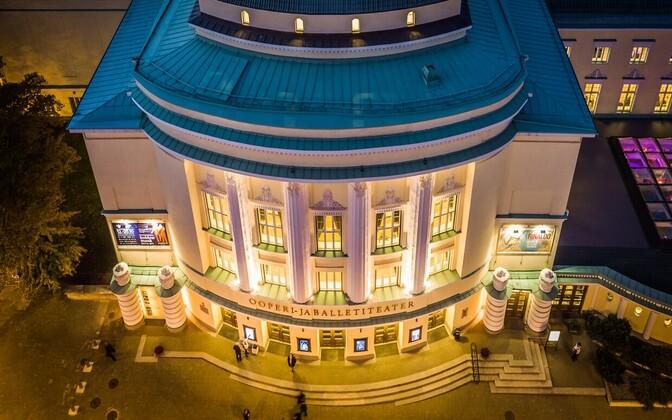 Estonia teatrimaja.