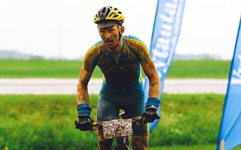 Caspar Austa pidi Tartu rattamaratonil leppima teise kohaga