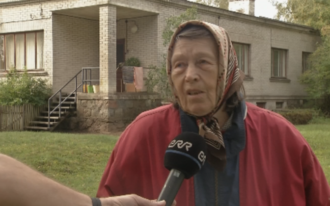 Maie Pukk on Rabasaare viimane elanik, kes nüüd samuti ära kolinud.