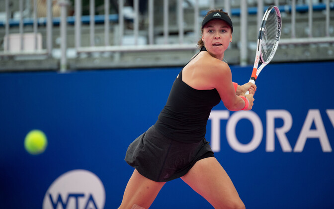 Top Estonian tennis player Anett Kontaveit (WTA 27).