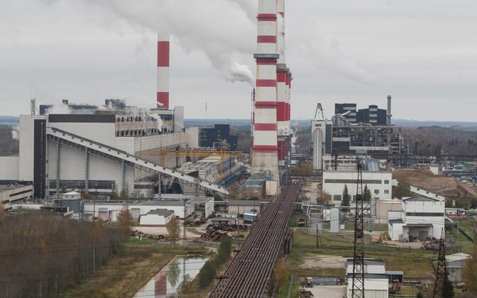 Eesti Energia's Narva power stations.