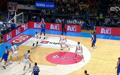 Отборочный матч ЧМ: Эстония - Сербия.