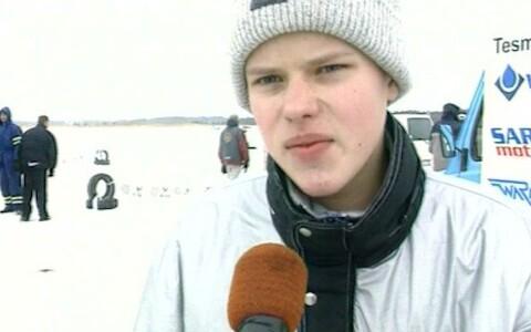 Ott Tänak 2003