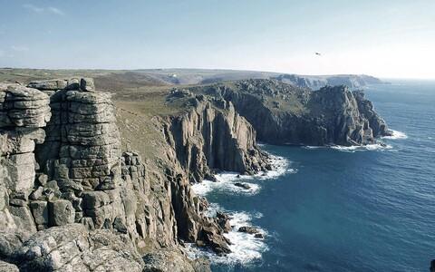 Suur osa Inglismaaast, sh Cornwall sarnaneb Prantsusmaa aluspinnale.
