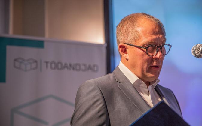 Союз работодателей представил манифест. Тоомас Тамсар