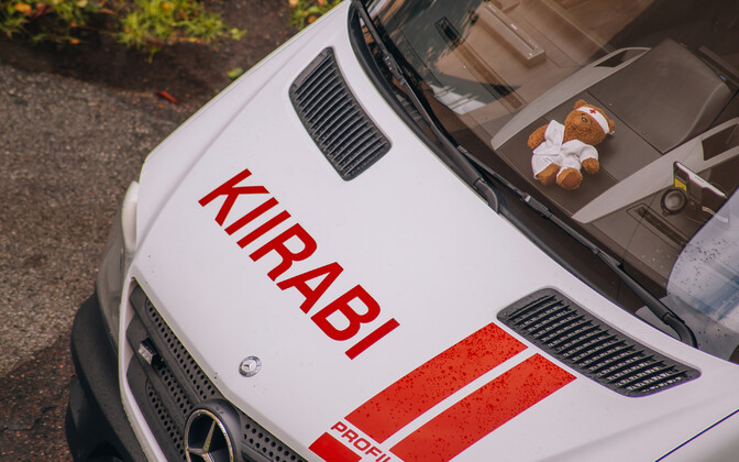 An ambulance in Tallinn. Photo is illustrative.