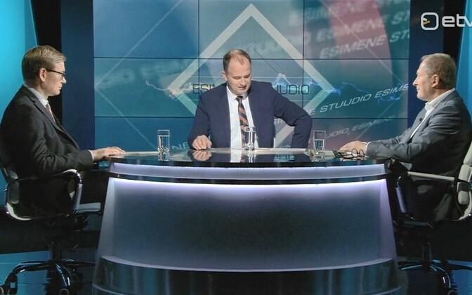 Peep Peterson, Andres Kuusk ja Toomas Tamsar.