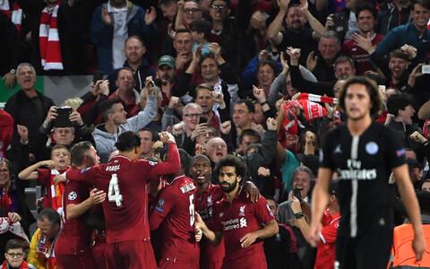 Liverpool Meistrite liiga avakohtumises PSG vastu