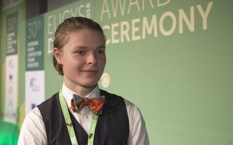 Eesti noor teadlane Karl Hendrik Tamkivi.