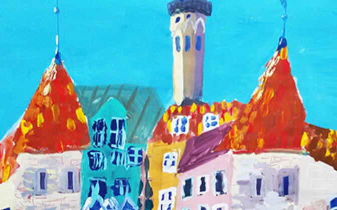Выставка детских рисунков в ЦРК.