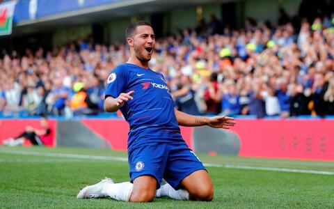 Eden Hazard on olnud Chelsea seni parim väravakütt
