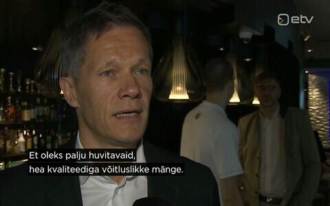 Läti korvpalliliidu peasekretär Edgars Šneps