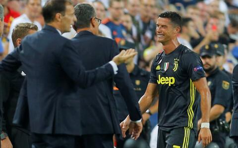 Pisarais Ronaldo pärast väljakult eemaldamist
