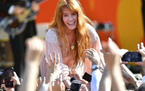 Florence Welch 2018. aasta juunis.