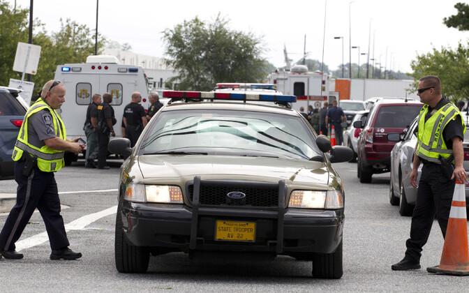 Marylandi politseinikud sündmuskohal.