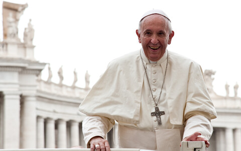 Pope Francis will be in Tallinn on 25 September.