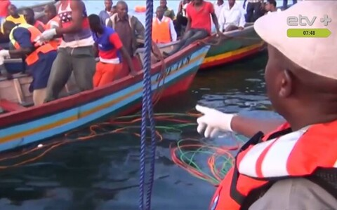 Крушение парома в Танзании.